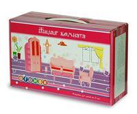 "Жилая комната в коробке для кукол, ""Огонек"""