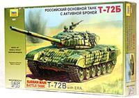 Модели танков для склеивания Танк Т-72Б