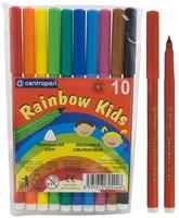 Фломастеры RAINBOW KIDS 10 цв.
