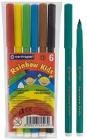 Фломастеры RAINBOW KIDS 6 цв.