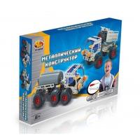 Конструктор детский металлический, грузовик, 224 детали