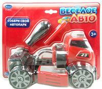 """Набор детский """"Cобери машинку"""" (""""Веселое авто"""") - машинка с отверткой"""