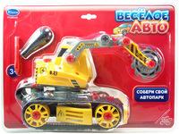 """Набор детский """"Cобери машинку"""" (""""Веселое авто"""") - трактор с отверткой  PT-00120"""
