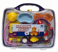 """Набор доктора для детей """"Маленький доктор"""" 12 предм. (в чемодане)"""