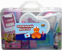 """Набор доктора для детей """"Маленький доктор"""" 16 предм. (в чемодане)"""