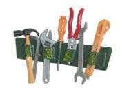 """Набор инструментов для детей """"Помогаю Папе"""", 7 предм., в сетке на подставке"""