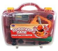"""Набор инструментов для детей """"Помогаю Папе"""", 8 предм., в чемодане"""