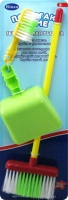 """Детский игрушечный набор для уборки """"Помогаю Маме"""" (""""Генеральная уборка"""") в наборе швабра, щетка и совок"""