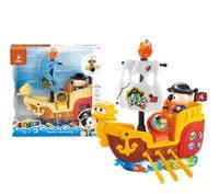 """Детский игрушечный пиратский кораблик """"Глазастики"""" (свет, звук)"""