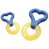Зубное кольцо для малыша Baby Nova охлаждающее с ручкой