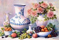 """Castorland Пазл """"Натюрморт с виноградом"""", 2000 дет."""