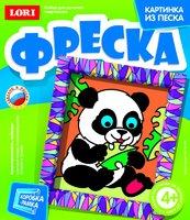 """Набор детский для создания картины из песка """"Крошка панда"""""""