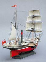 """Модели кораблей для склеивания пароход """"Сириус"""""""