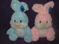 Дет. игрушка Заяц голубой 45см
