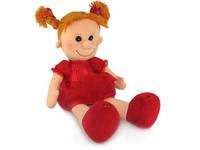 Кукла Майя в красном платье (муз.) 28 см