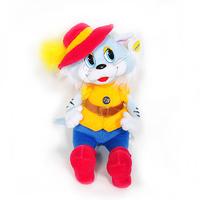 Игрушка мягкая Кот в шляпе (муз.) 27 см