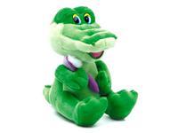 Игрушка мягкая Крокодил с зубной щёткой (муз.) 22 см