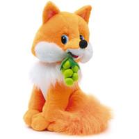 Игрушка мягкая Лиса с виноградом мал. (муз.) 24 см