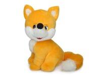 Игрушка мягкая Лисёнок-малыш (муз.) 20 см