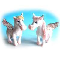 Игрушка мягкая Лошадь с крыльями мал. (муз.) 19 см