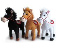 Игрушка мягкая Лошадь средняя  (муз.)