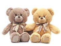 Игрушка мягкая Медведь коричневый классический малый (муз.) 22 см