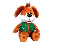 Игрушка мягкая Пёс в жилетке (муз.) 24 см