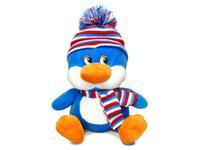 Игрушка мягкая Пингвинёнок (муз.) 18 см
