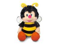 Игрушка мягкая Пчёлка Жужа (муз.) 18 см