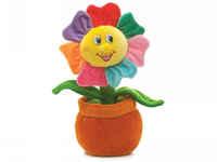Игрушка мягкая Цветик-семицветик яркий (муз.) 19 см