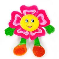 Игрушка мягкая Цветок подвесной (двухцветный) 16 см