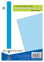 Сменный блок для тетради на кольцах (50 л., кл., А5, голубой, 115-3616)