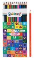 """Карандаши цветные """"Emotions"""" (24 цв.)"""