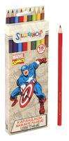 """Карандаши цветные """"Marvel comics"""", акварельные (18 цв.)"""