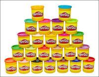 PLAY-DOH Пластилин в наборе из 24 банок