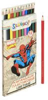 """Карандаши цветные """"Marvel comics"""" (12 цв., пласт."""