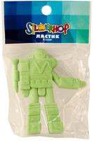 """Ластик из синтетич. каучука  """"Techno wars"""" (в форме трансформера, голубой/зеленый)"""