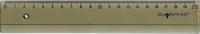 Линейка, 20 см (дымчатая, в ассорт.)