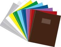 """Обложка для тетрадей и дневников (213х355 мм, 130 мк, круглая, текстура """"Diamond"""",  10 штук, цв. в"""