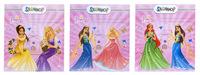 """Обложка для тетрадей и дневников """"Princess"""" (213х355 мм, 130 мк, круглая)"""