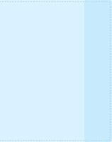 Обложка для учебников мл. классов, ПВХ, 230х365мм, 130мкруглая , 2 кармана, гладкая, прозр.