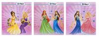 """Обложка универсальная для учебников """"Princess"""" (230х420 мм, 130 мк, круглая, 3 штук)"""