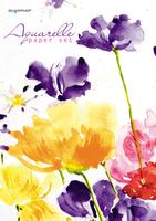 """Папка для акварели """"Цветы"""" (10 л., А3, мелованый картон, 200 г/м2)"""