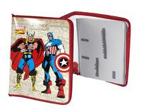 "Папка для труда ""Marvel comics"" (320х240 мм, на молнии)"