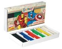 """Пластилин """"Marvel comics"""" (6 цв., 120 г)"""