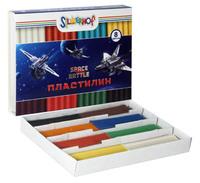 """Пластилин """"Space battle"""" (8 цв., 160 г)"""
