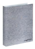 Тетрадь на кольцах (160 л., кл., А5, обложка - серебро)