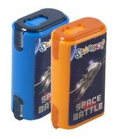 "Точилка ""Space Battle"" (с ластиком, цвет ассорти)"