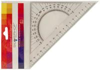 Угольник (45°/20 см, прозрачный)