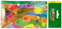 """Угольник """"Colorful"""" (60°/12 см, объемный)"""